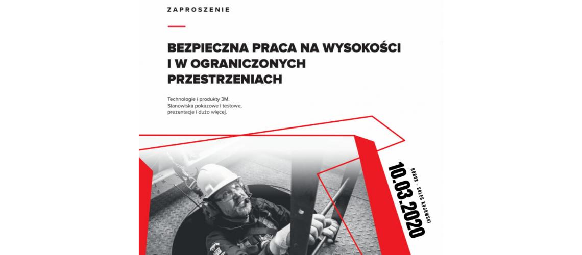 """Seminarium BHP """"Bezpieczna praca na wysokości i w ograniczonych przestrzeniach"""""""