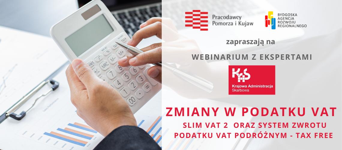 Webinarium o zmianach w podatku VAT